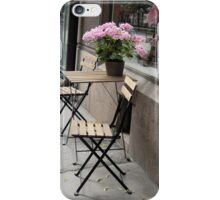 Pink Flowers Inside and Out iPhone Case/Skin