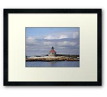 Cuckolds Island Framed Print