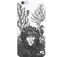 Detail - Large pieces of coral make a child look like a deer iPhone Case/Skin