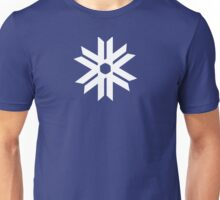 White Snowflake Unisex T-Shirt