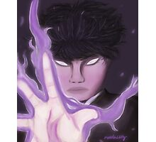 Mob's Serious Photographic Print