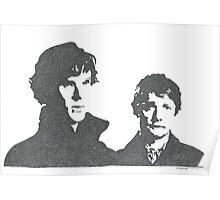Sherlock and Watson Poster