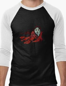 The Chase - Running Away From Fear Men's Baseball ¾ T-Shirt