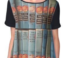 I ❤ Mystery Books Chiffon Top