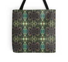 Cute Curly Patterns Tote Bag