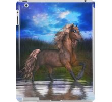 Horse in Lake, tote, pillow, case iPad Case/Skin
