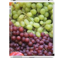 fruit greengrocer iPad Case/Skin