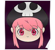 Nonon Jakuzure Kawaii Sugoi Desu Face Poster