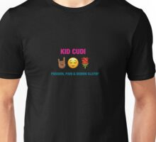 Kid Cudi - Passion Pain & Demon Slayin' Emoji Cover Unisex T-Shirt