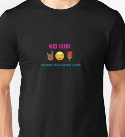 Kid Cudi - Passion Pain & Demon Slayin' Emoji Cover Unisex T-Shirt