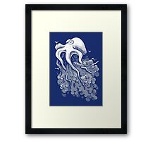 Deep Cloud Framed Print