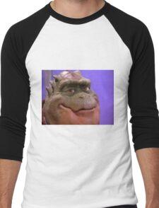 Smug dinosaur man Men's Baseball ¾ T-Shirt