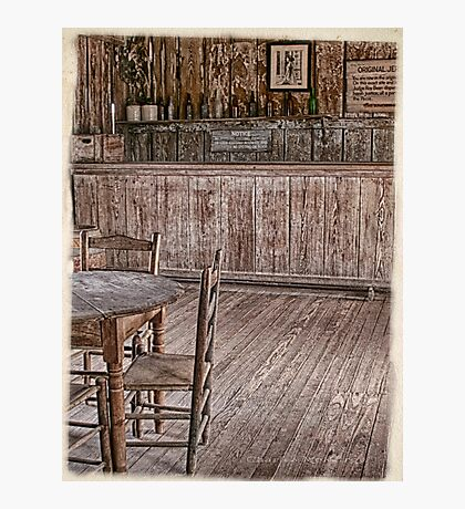Saloon in Langtree Photographic Print