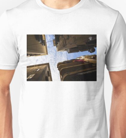 Skyward in Naples Italy - Spanish Quarters Take Two Unisex T-Shirt