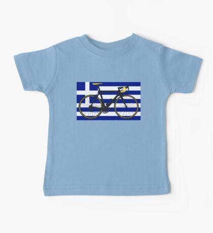 Bike Flag Greece (Big - Highlight) Baby Tee
