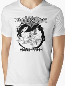 Moongates Guardian - Middle- Earth Mens V-Neck T-Shirt