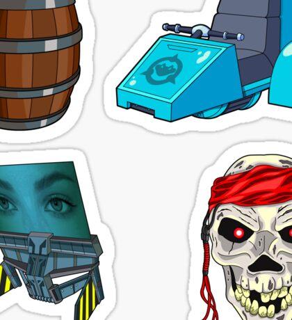 Rareware Series (Sticker Set) Sticker
