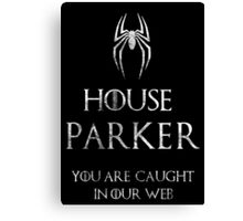 The noble house of Parkers Canvas Print