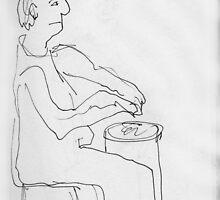 Drumming by James Lewis Hamilton