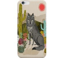 Wolf by Andrea Lauren  iPhone Case/Skin