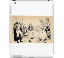 Tammy Meets Betsy Ross And George Washington iPad Case/Skin