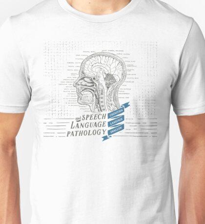 Speech Language Pathology Antique Anatomy Unisex T-Shirt