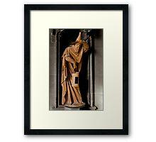 Terracotta Wizard Framed Print
