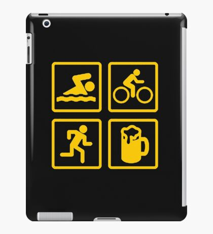 TRIATHLON FUN iPad Case/Skin