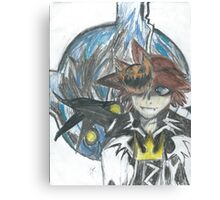 Halloween Town Sora Canvas Print