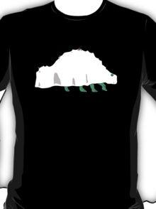Ghost Stegosaurus T-Shirt