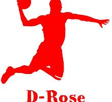 D-Rose Shadow Design by nbatextile