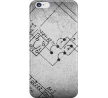 Blueprint iPhone Case/Skin