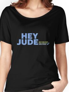 BEATLES - HEY JUDE Women's Relaxed Fit T-Shirt