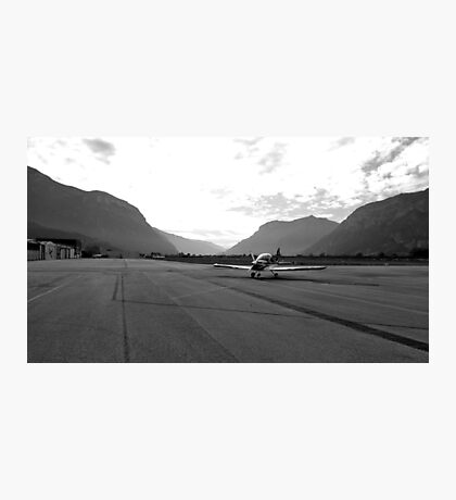 Airport Trento Photographic Print