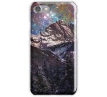 Fantasy mountain landscape iPhone Case/Skin
