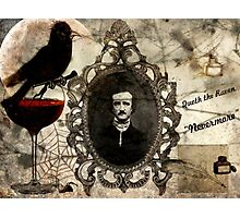 Quoth the Raven, Nevermore Photographic Print