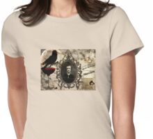 Quoth the Raven, Nevermore Womens Fitted T-Shirt