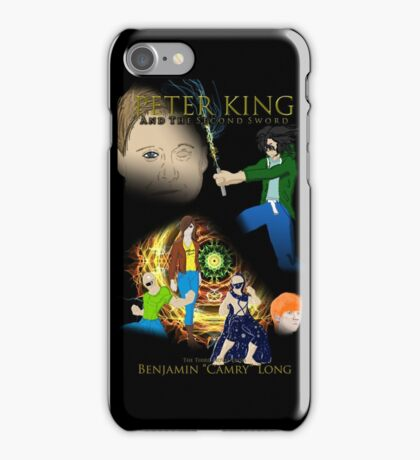 Peter King and the Second Sword Cover Art iPhone Case/Skin