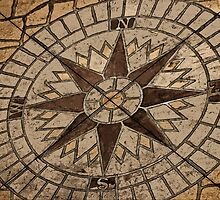 Masonry Compass by GalleryThree