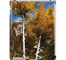 Abstraction of Fall iPad Case/Skin