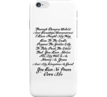 Labyrinth Inspired Design iPhone Case/Skin