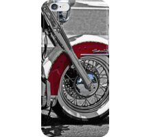Reflections on a Motorcycle iPhone Case/Skin