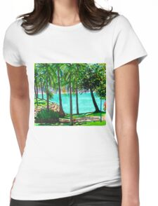 View to Maggie Womens Fitted T-Shirt