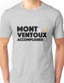 Mont Ventoux Accomplished Cycling Tour De France Unisex T-Shirt