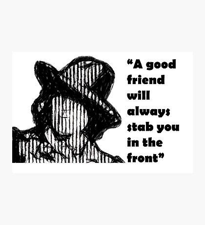 Wilde wit Photographic Print
