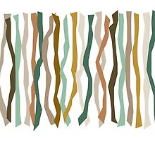 Green and Brown Color Sticks by Patricia Lintner