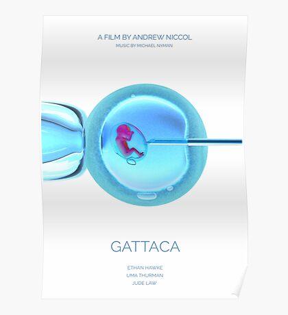 Gattaca, film, Ethan Hawke, Uma Thurman, Jude Law Poster