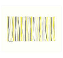 Lemon Delight on a Gray Day Art Print