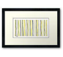 Lemon Delight on a Gray Day Framed Print