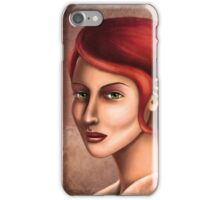 Wisdom in Her Eyes iPhone Case/Skin